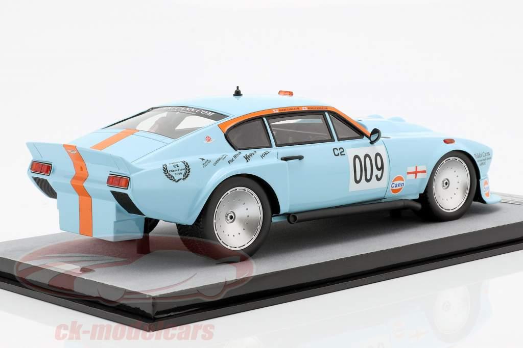 Aston Martin AM V8 #009 AMOC campione 2008 Rikki Cann 1:18 Tecnomodel