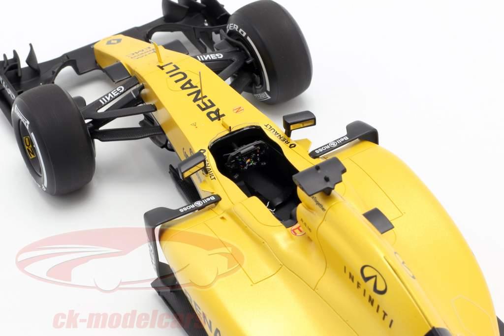 K. Magnussen & J. Palmer Renault R.S.16 Showcar fórmula 1 2016 1:18 Spark