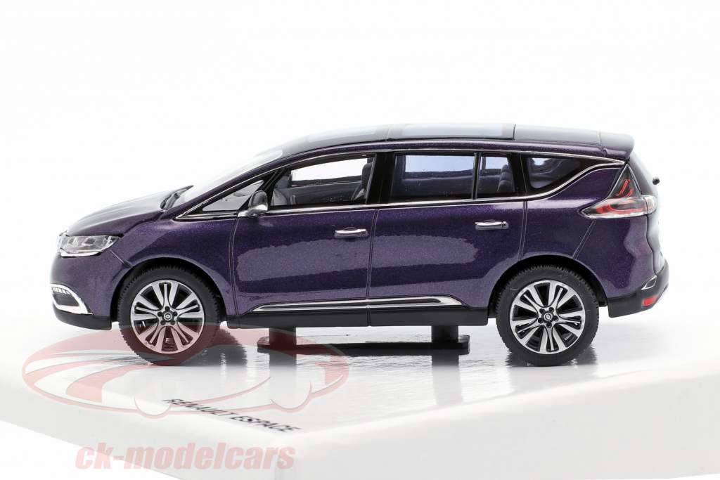 Renault Espace Initiale Paris Concept Car 2014 violett metallic 1:43 Norev
