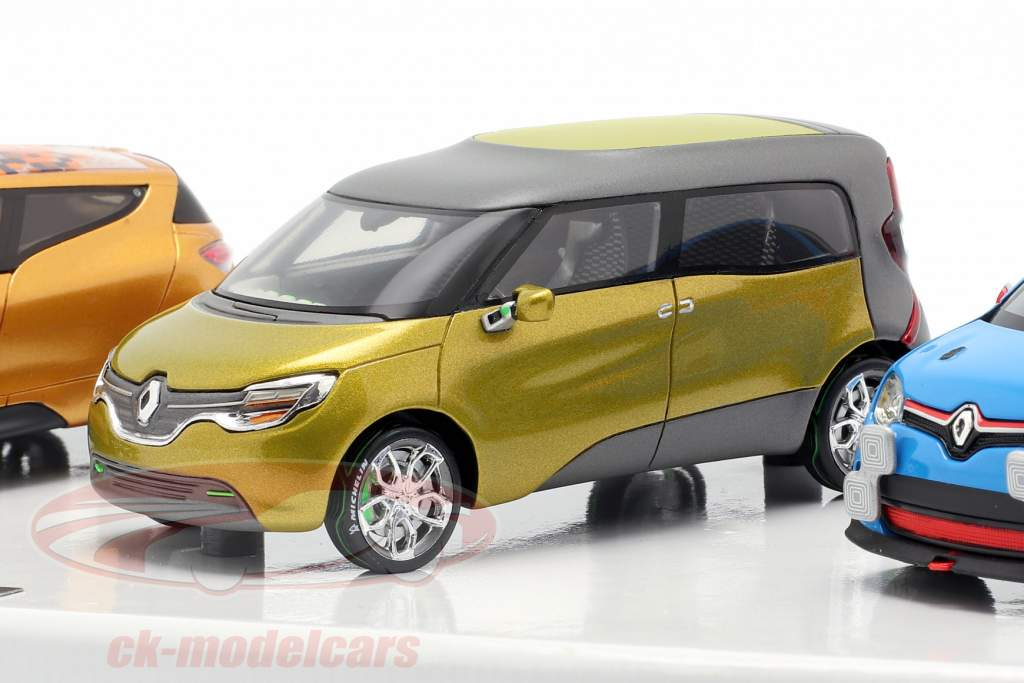 6-Car Set Renault Concept Cars 1:43 Norev