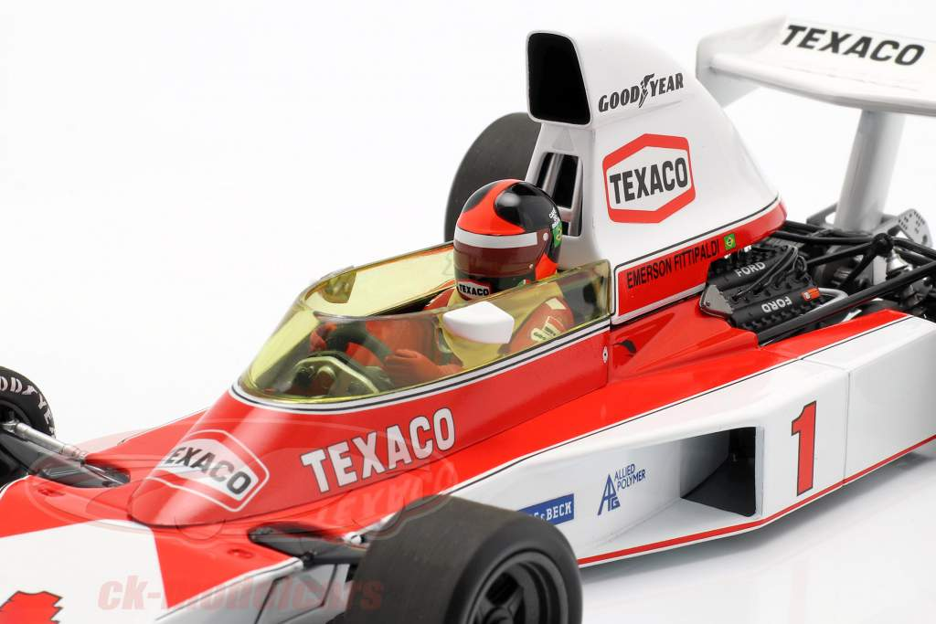 Emerson Fittipaldi McLaren M23 #1 fórmula 1 1975 1:18 Minichamps