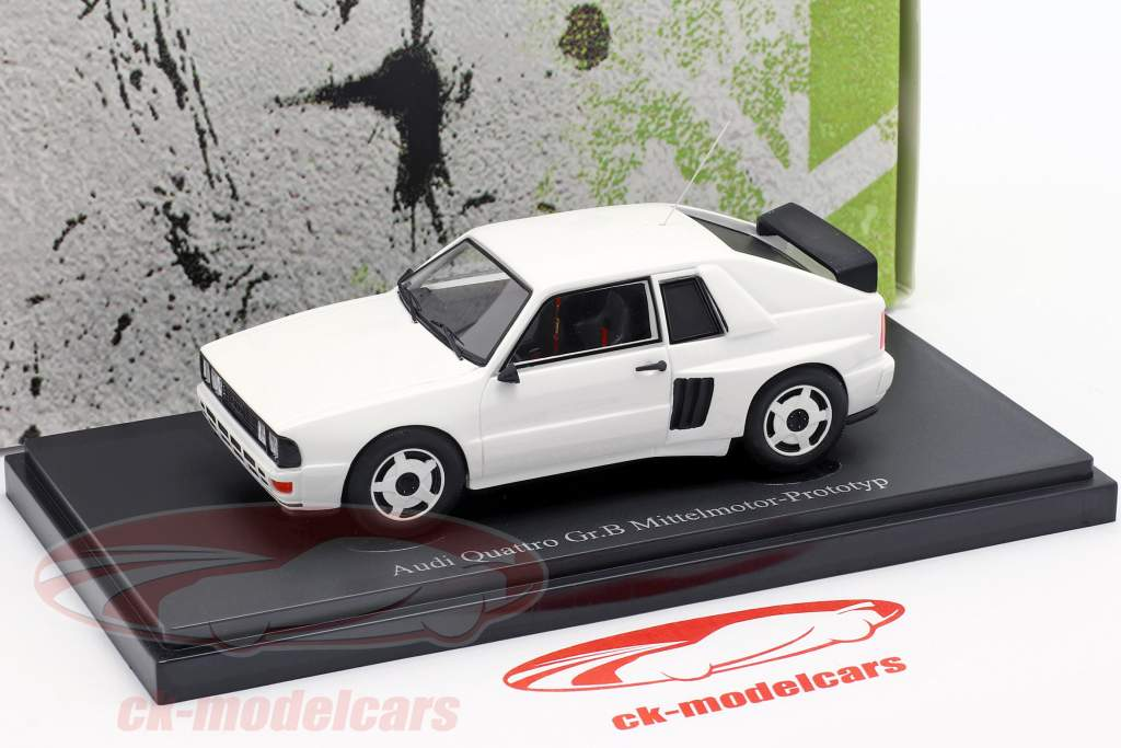 Audi Quattro Gr. B Mi-moteur prototype 1985 blanc 1:43 AutoCult