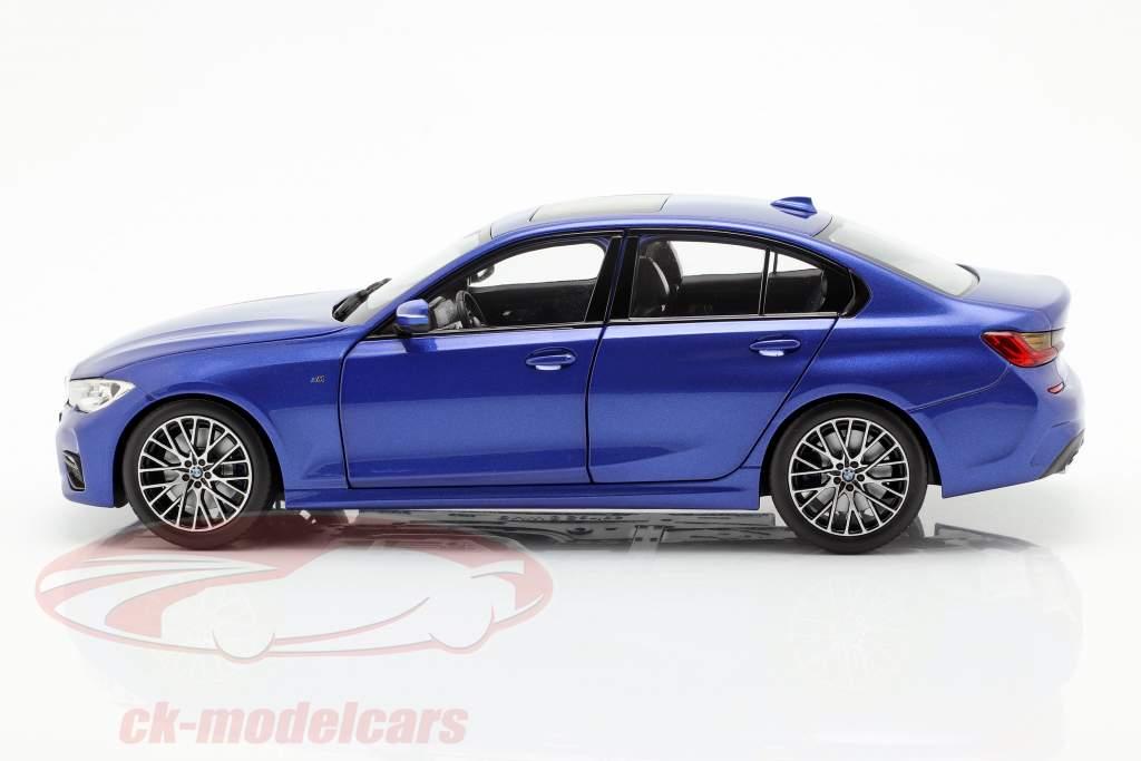 BMW 3 Series Limousine (G20) Baujahr 2019 portimao blau 1:18 Norev