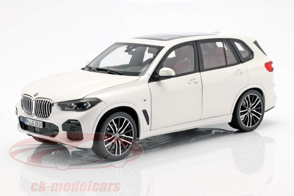 BMW X5 (G05) ano de construção 2018 alpino branco 1:18 Norev