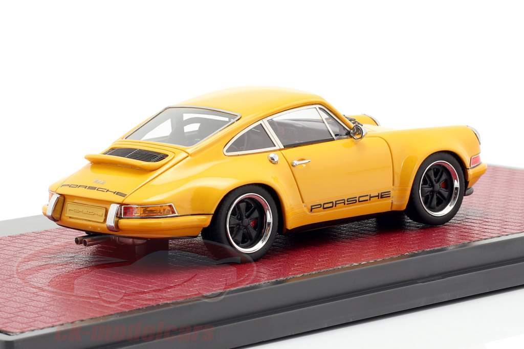 Porsche 911 Singer Design 2014 laranja 1:43 Matrix