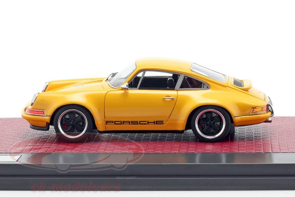 Porsche 911 Singer Design 2014 arancione 1:43 Matrix