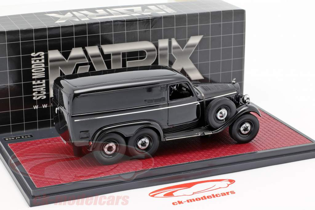 Mercedes-Benz G4 van (W31) Opførselsår 1939 sort 1:43 Matrix