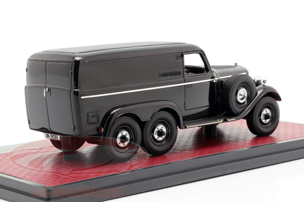 Mercedes-Benz G4 Geländewagen (W31) Baujahr 1939 schwarz 1:43 Matrix