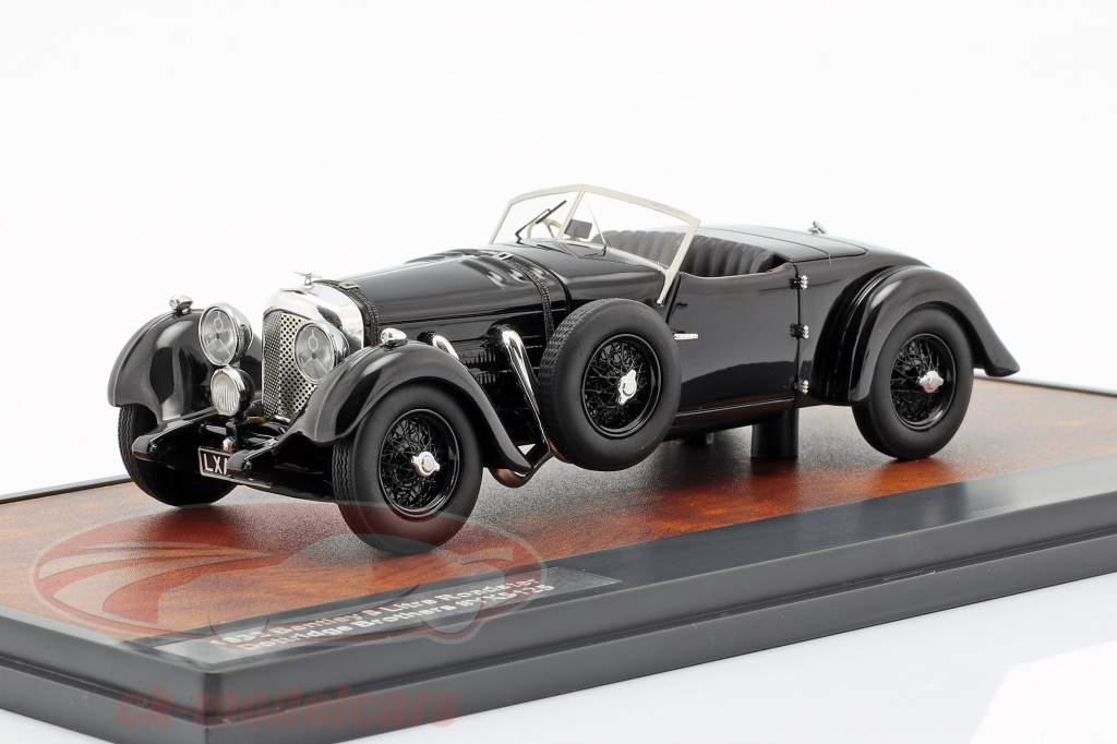 Bentley 8 Liter Roadster Open Top Baujahr 1932 schwarz 1:43 Matrix