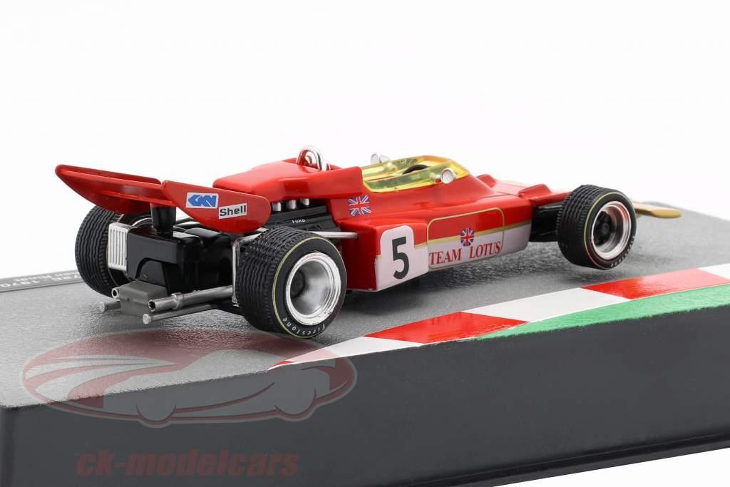 Jochen Rindt Lotus 72C #5 campeón del mundo fórmula 1 1970 1:43 Altaya