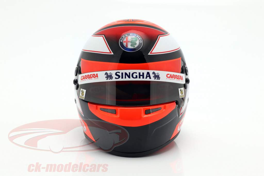 Kimi Räikkönen Alfa Romeo Racing C38 #7 Formel 1 2019 Helm 1:2 Bell