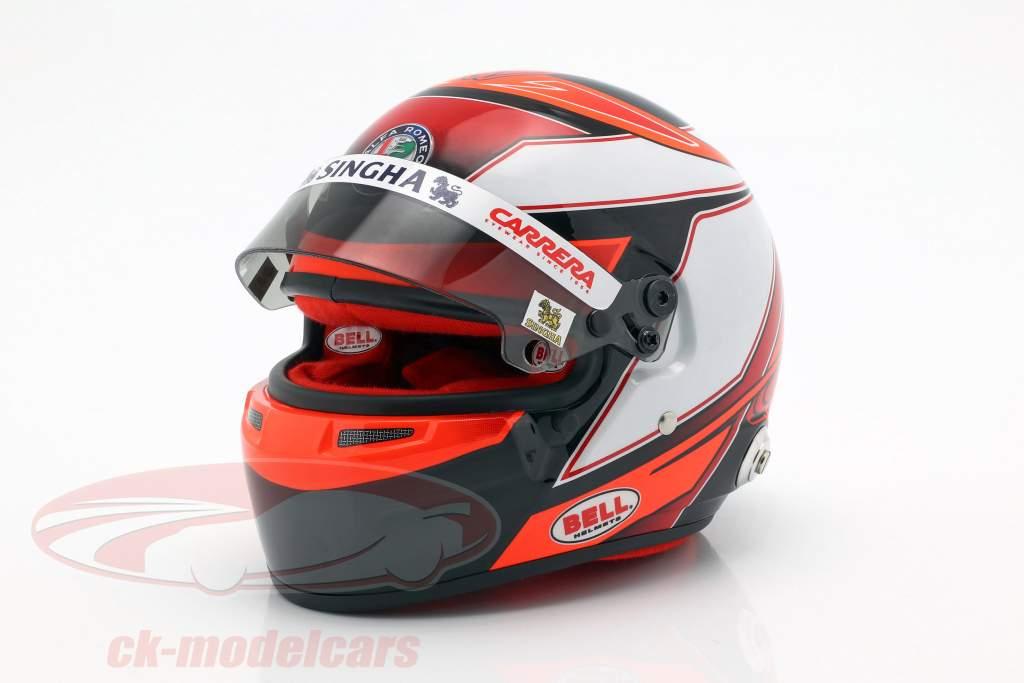 Kimi Räikkönen Alfa Romeo Racing C38 #7 formule 1 2019 helm 1:2 Bell