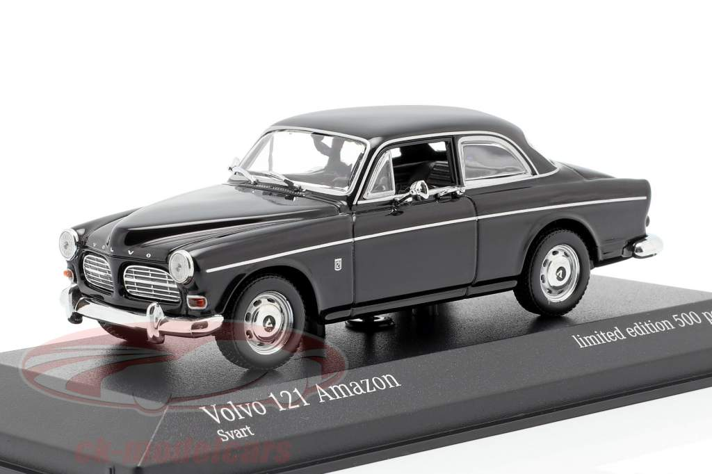 Volvo 121 Amazon Opførselsår 1966 sort 1:43 Minichamps
