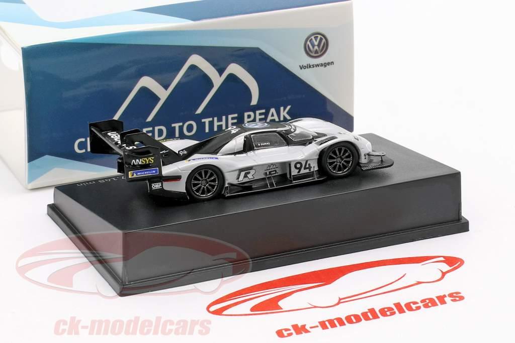 Volkswagen ID.R #94 Pikes Peak record giugno 24th, 2018 7:57.148 min Romain Dumas 1:87 Spark