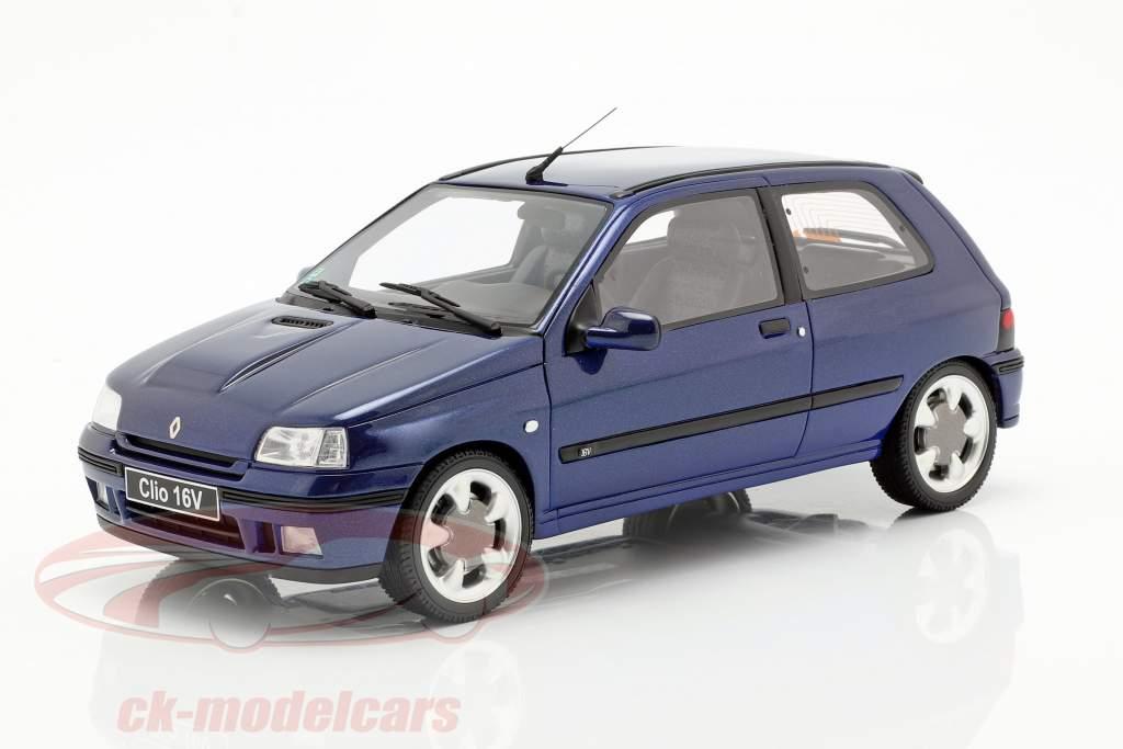Renault Clio 16V Phase 2 anno di costruzione 1995 Monaco blu 1:18 OttOmobile