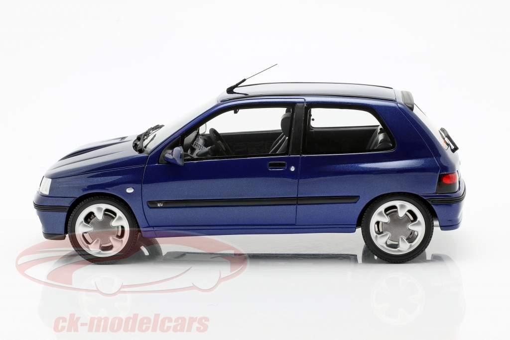 Renault Clio 16V Phase 2 year 1995 Monaco blue 1:18 OttOmobile