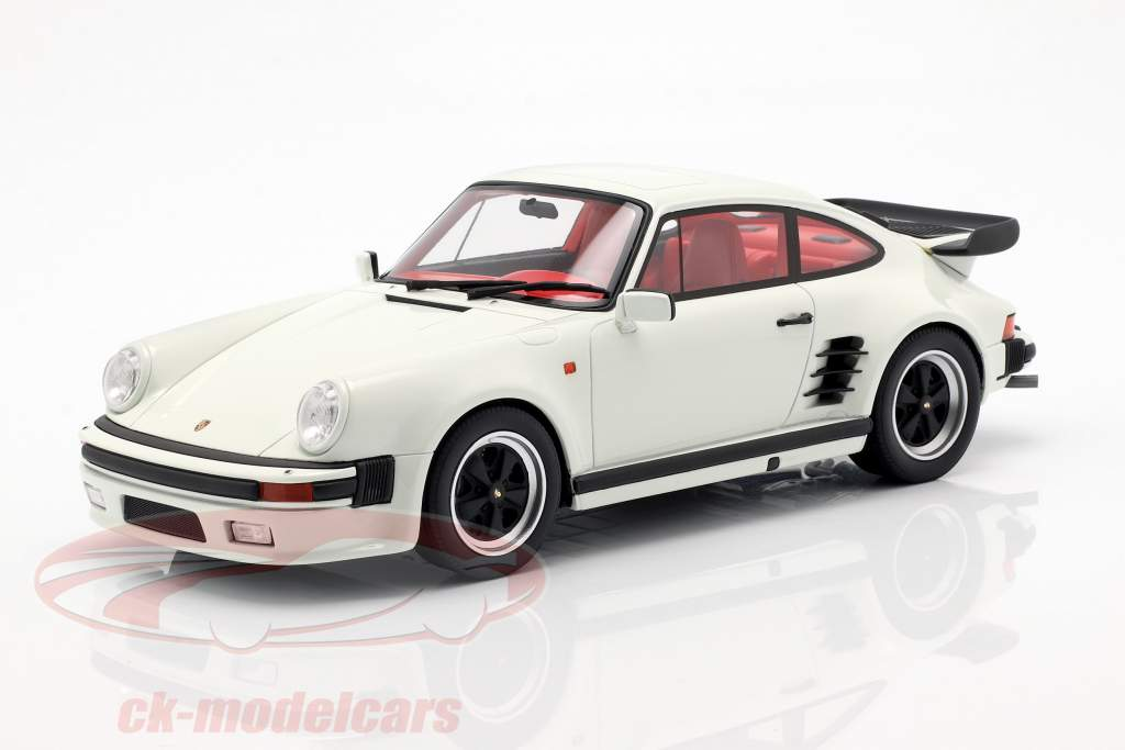 Porsche 911 (930) Turbo S Grand Prix blanco 1:18 GT-Spirit
