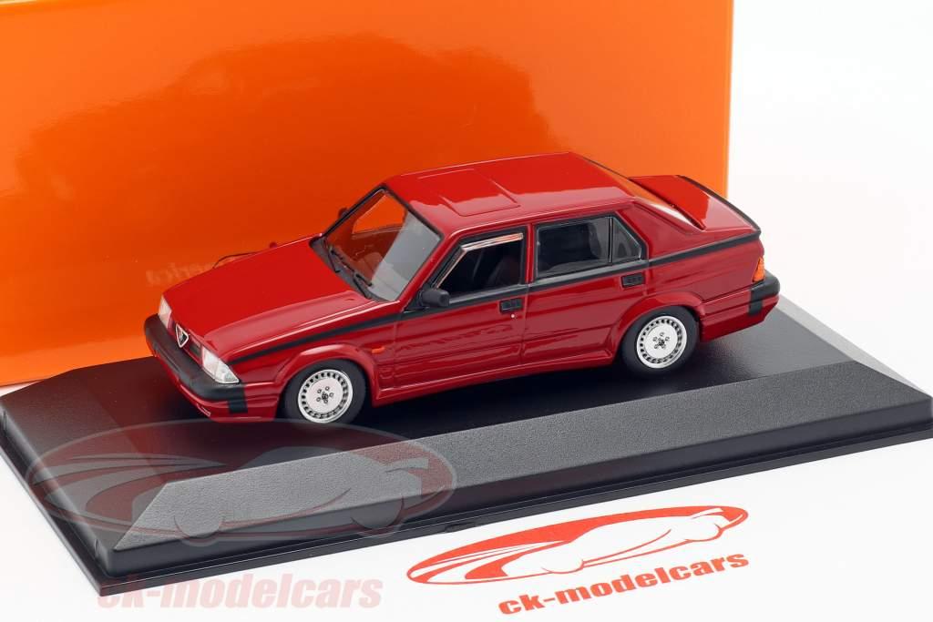 Alfa Romeo 75 V6 3.0 America année de construction 1987 rouge 1:43 Minichamps