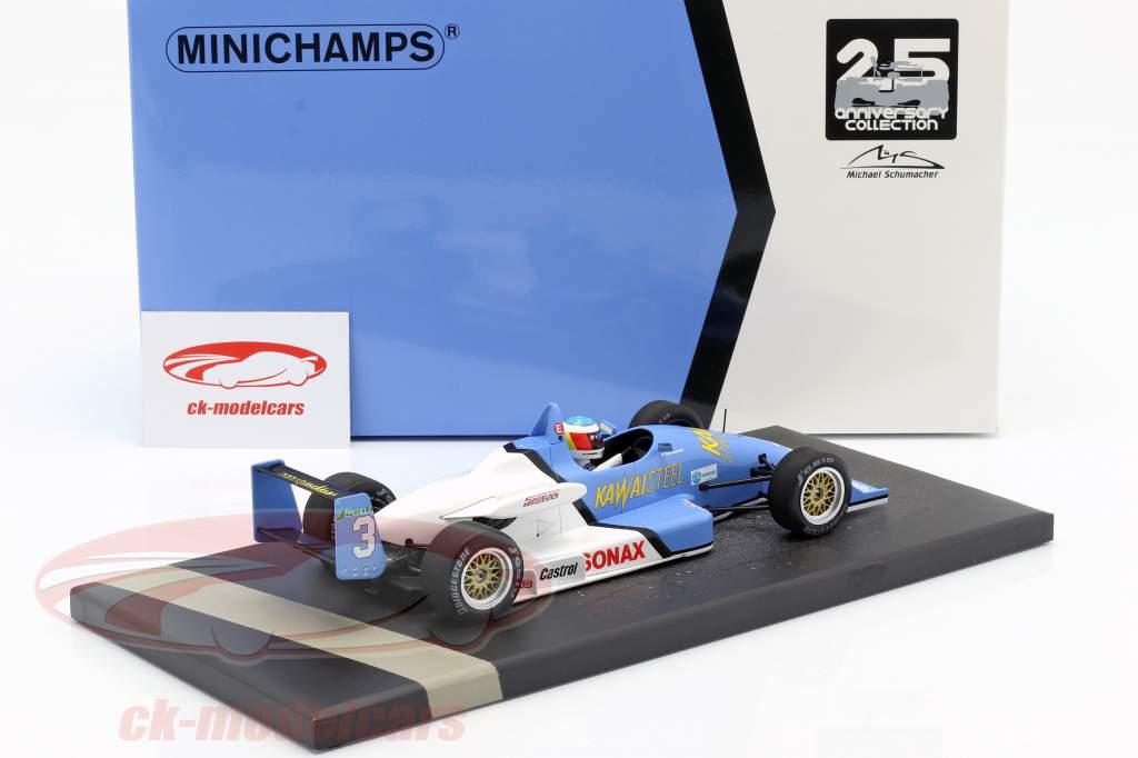 M. Schumacher Spiess F903 #3 vencedor 1º Int. F3 liga Fuji pista de corrida 1990 1:18 Minichamps