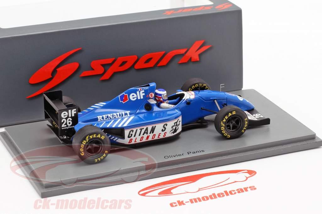 Olivier Panis Ligier JS39B #26 canadense GP fórmula 1 1994 1:43 Spark