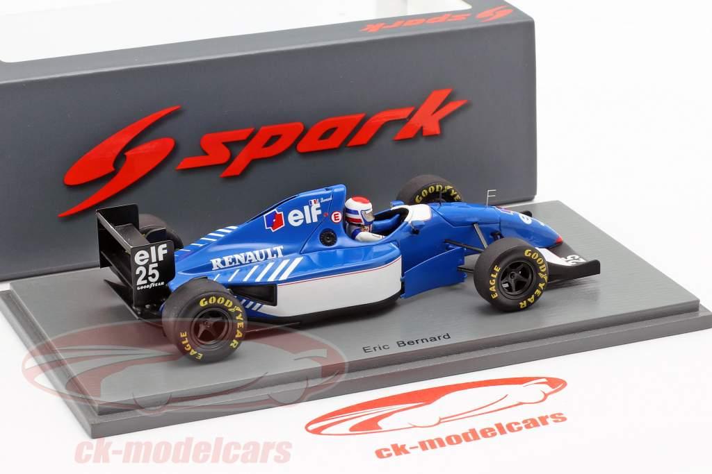 Eric Bernard Ligier JS39B #25 francês GP fórmula 1 1994 1:43 Spark