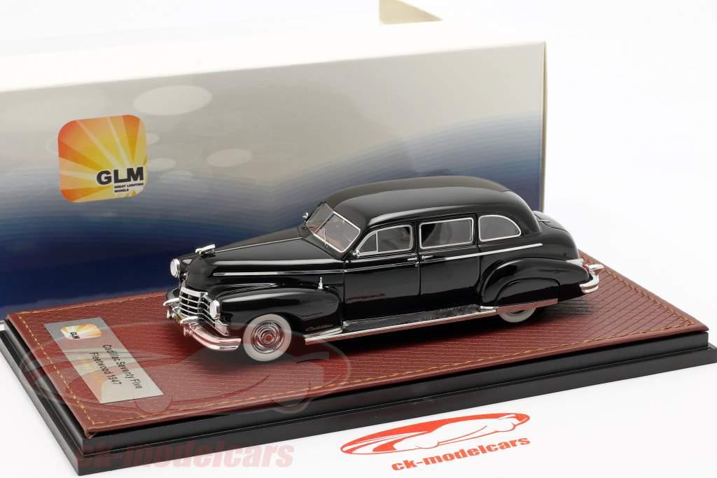 Cadillac Fleetwood 75 Baujahr 1947 schwarz 1:43 GLM