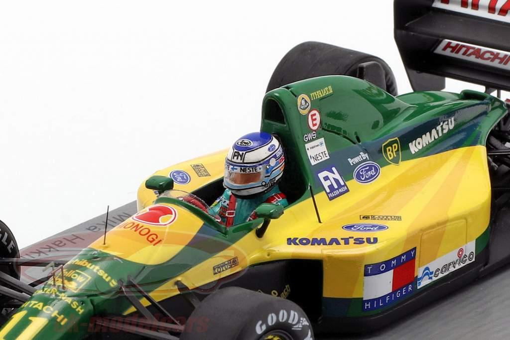 Mika Häkkinen Lotus 107 #11 4th French GP formula 1 1992 1:43 Spark