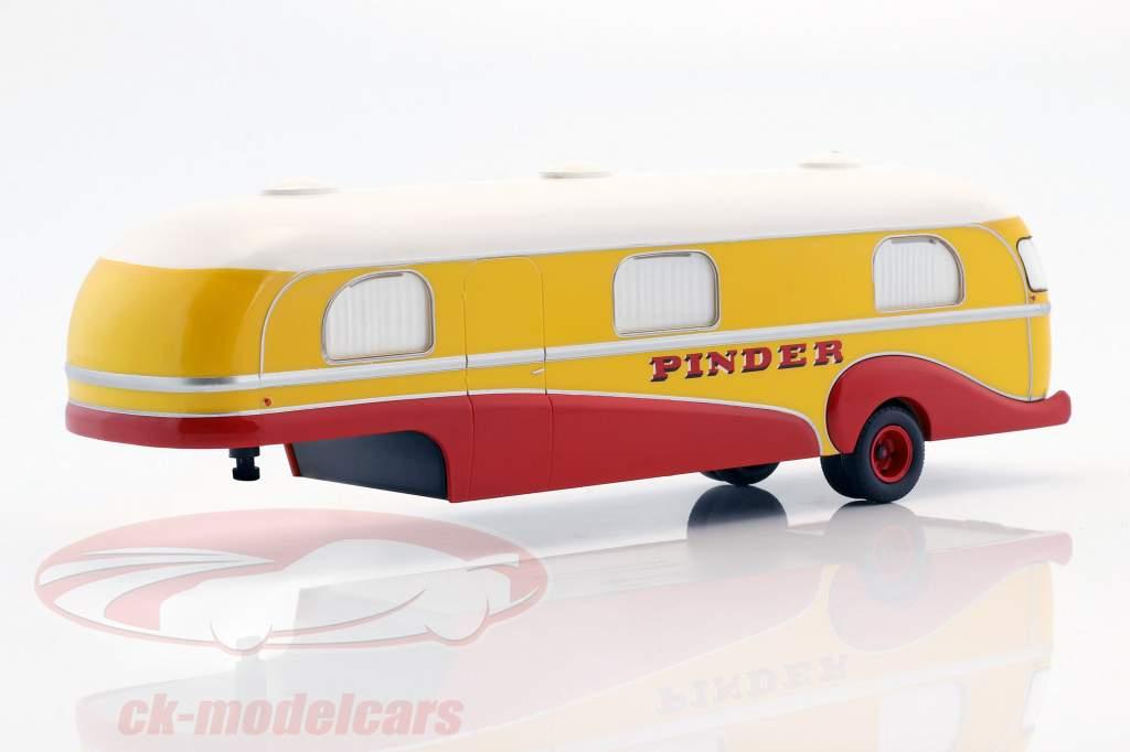 4-Car Set Pinder circus plus additional accessories 1:43 Direkt Collections