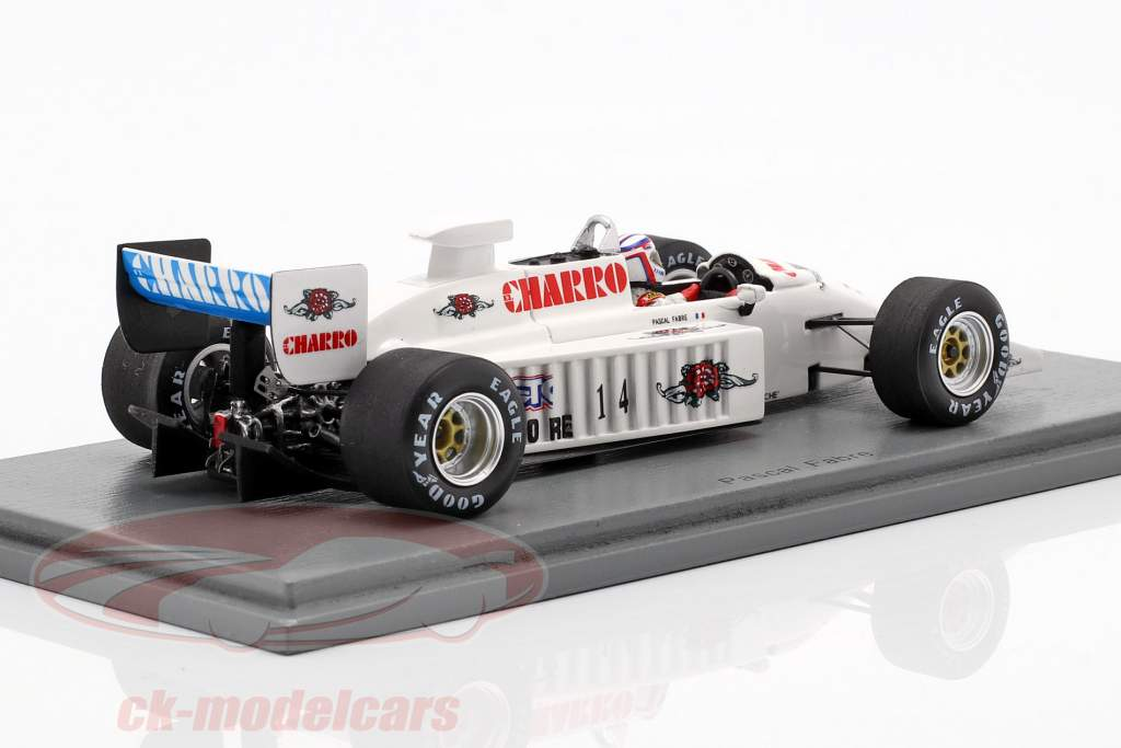 Pascal Fabre AGS JH22 #14 San Marino GP formule 1 1987 1:43 Spark