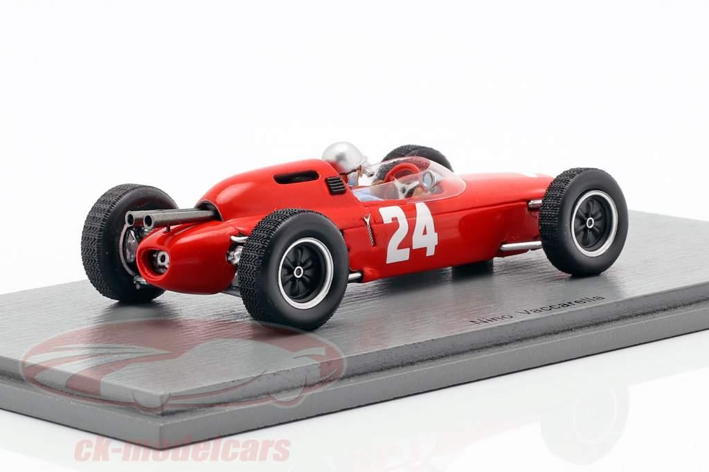 Nino Vaccarella loto 24 #24 italiano GP formula 1 1962 1:43 Spark