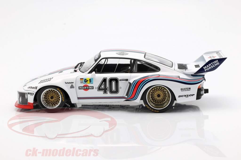 Porsche 935 #40 4 24h LeMans 1976 Stommelen, Schurti 1:18 Norev