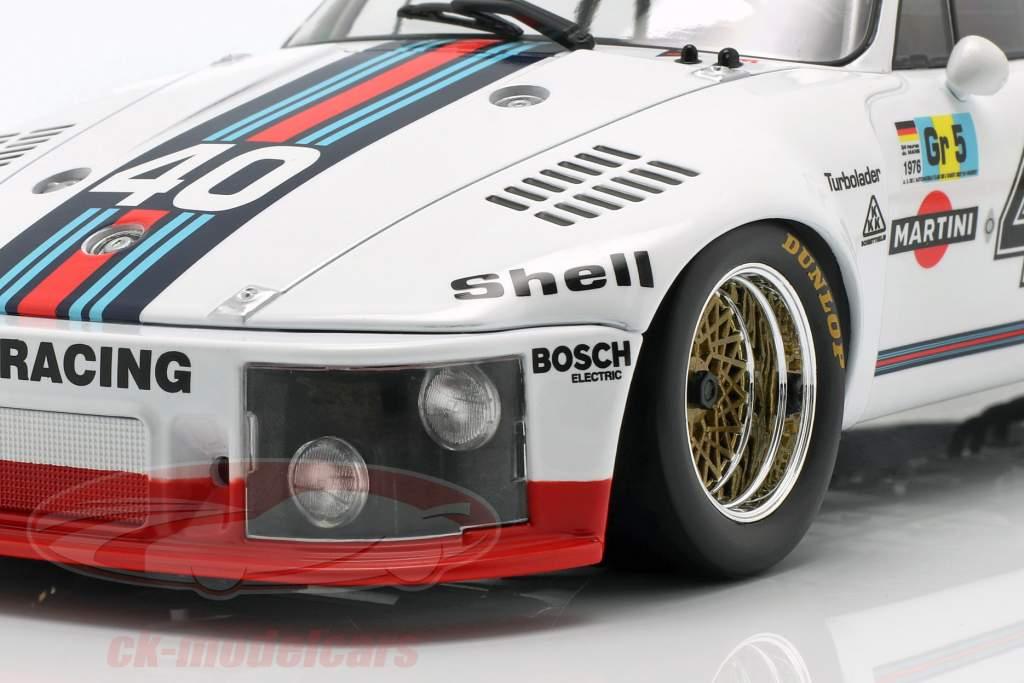 Porsche 935 #40 cuarto 24h LeMans 1976 Stommelen, Schurti 1:18 Norev