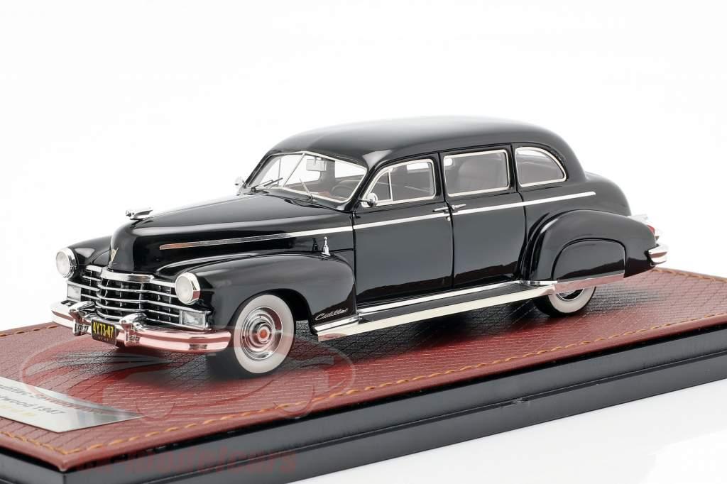 Cadillac Fleetwood 75 año de construcción 1947 negro 1:43 GLM