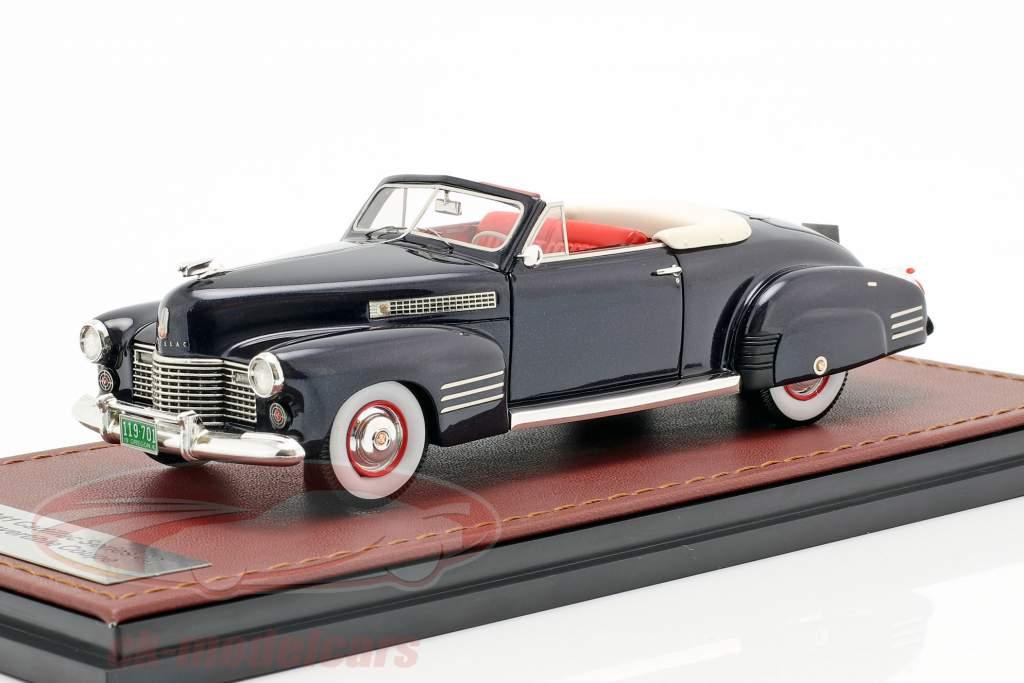 Cadillac Series 62 Convertible Open Top Baujahr 1941 dunkelblau 1:43 GLM