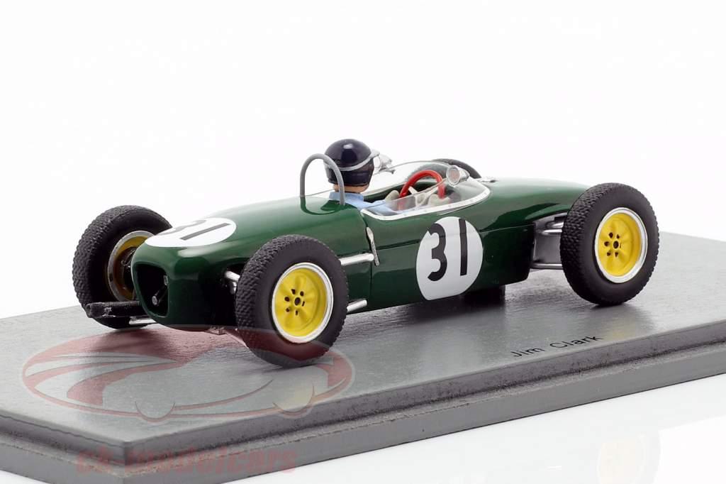 Jim Clark Lotus 18 #31 gagnant Oulton Park formule junior 1960 1:43 Spark