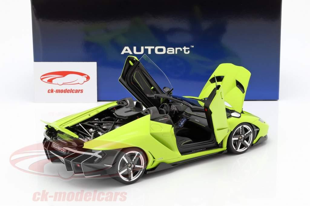 Lamborghini Centenario roadster année de construction 2016 lumière vert 1:18 AUTOart