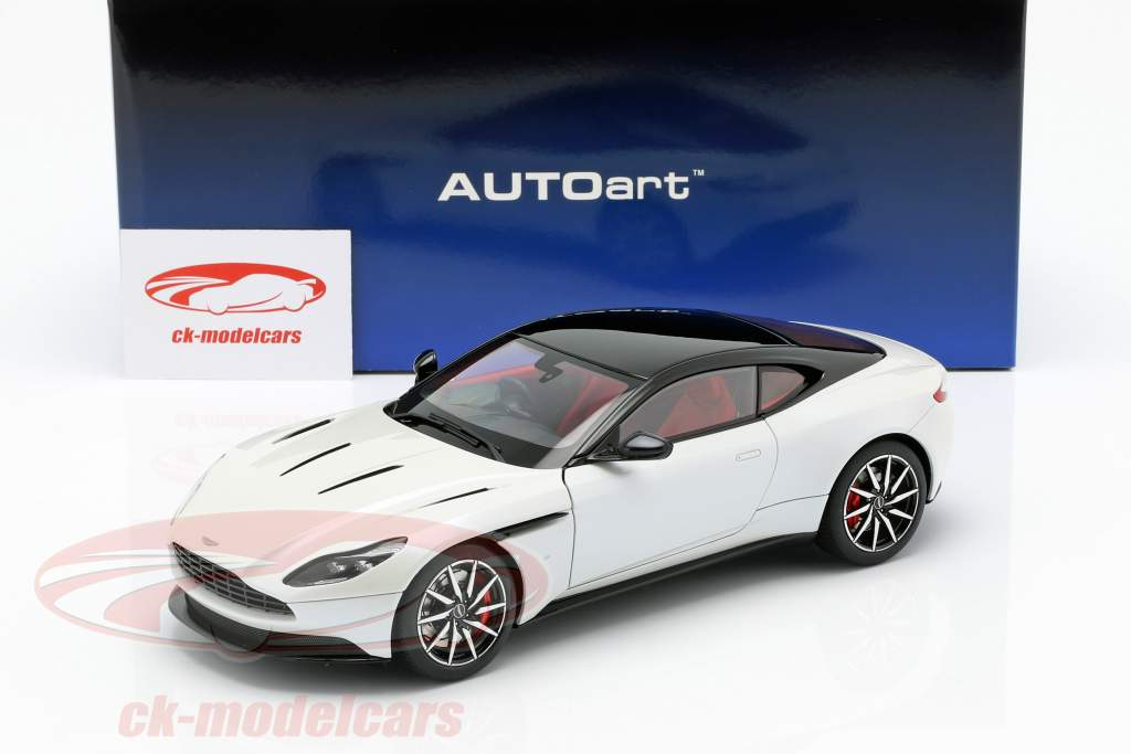 Aston Martin DB11 coupe year 2017 white metallic 1:18 AUTOart