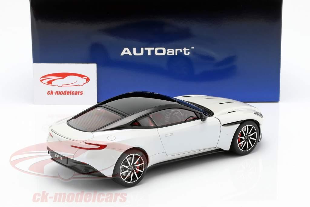 Aston Martin DB11 coupe anno di costruzione 2017 bianco metallico 1:18 AUTOart