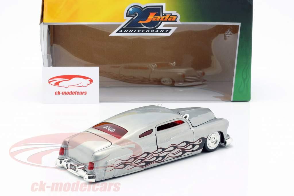 Mercury année de construction 1951 argent 1:24 Jada Toys