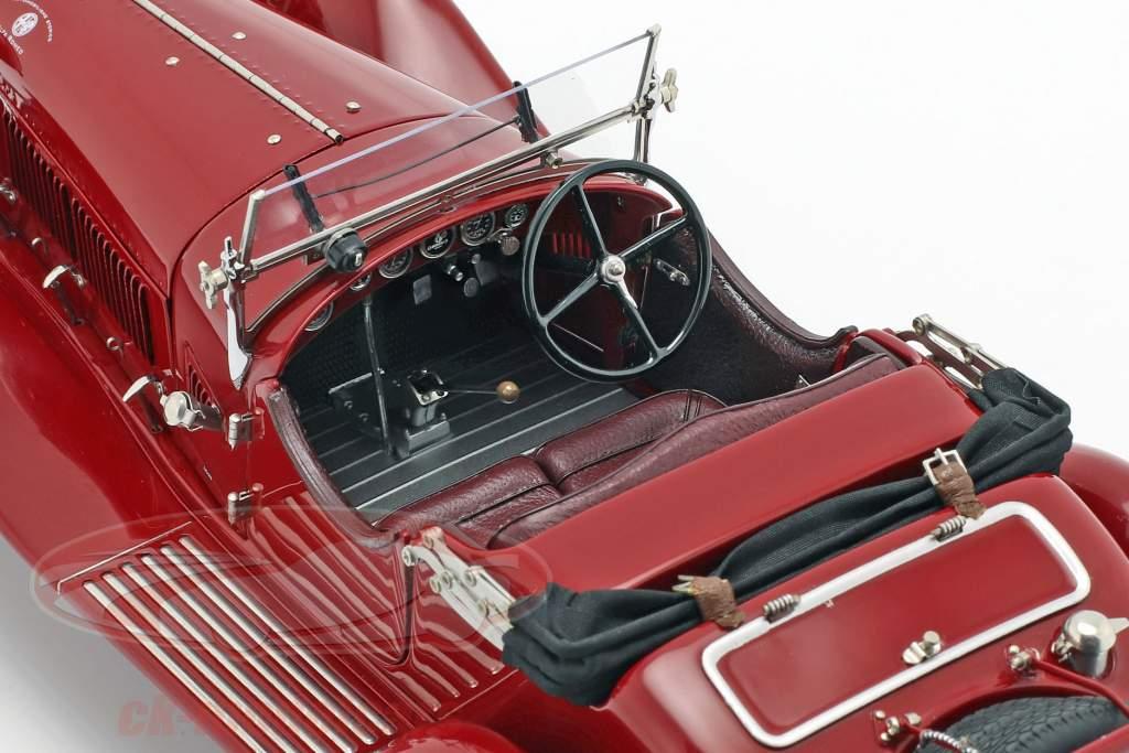 CMC Classic Garage compresi Alfa Romeo 6C 1750 GS anno di costruzione 1930 1:18 CMC