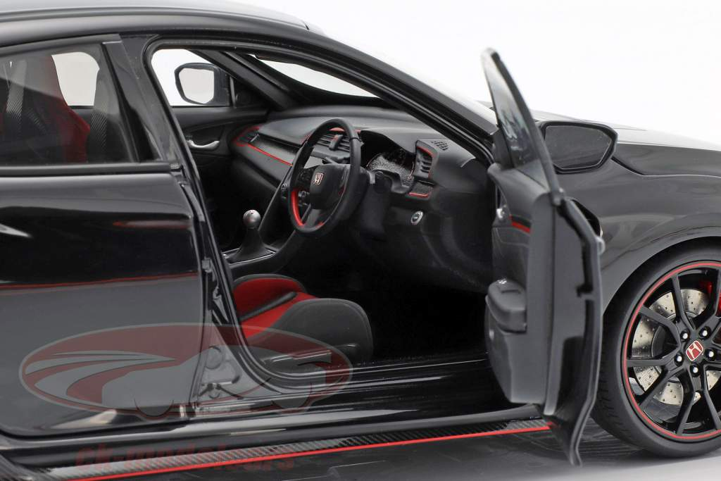Honda Civic Type R (FK8) Baujahr 2017 crystal black pearl 1:18 AUTOart