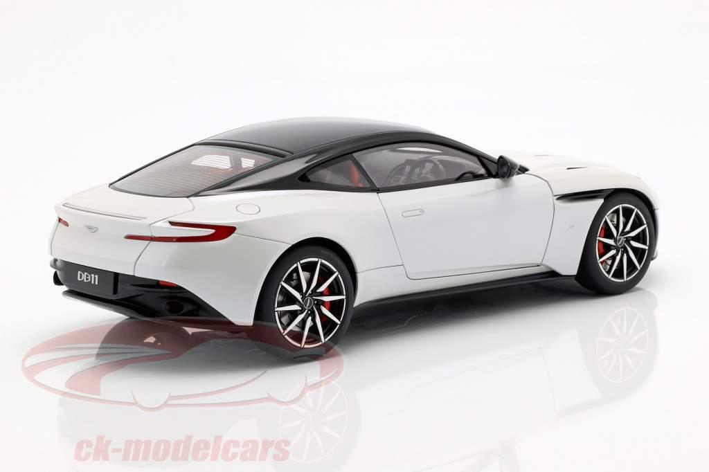 Aston Martin DB11 coupe Opførselsår 2017 hvid metallisk 1:18 AUTOart