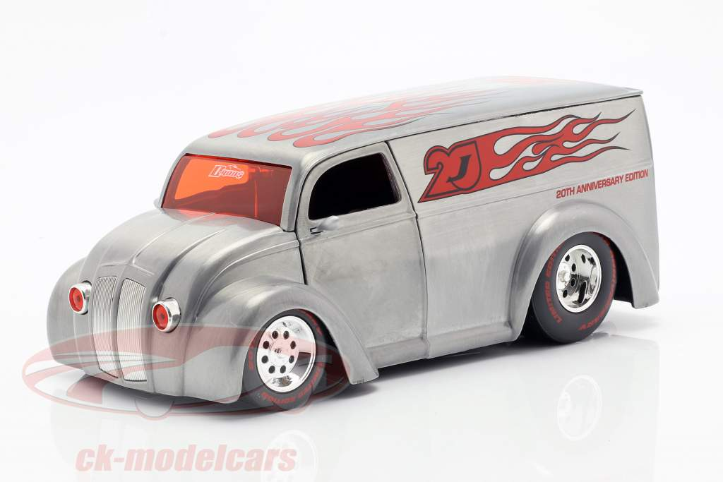 Div Cruizer sølv / rød 1:24 Jada Toys