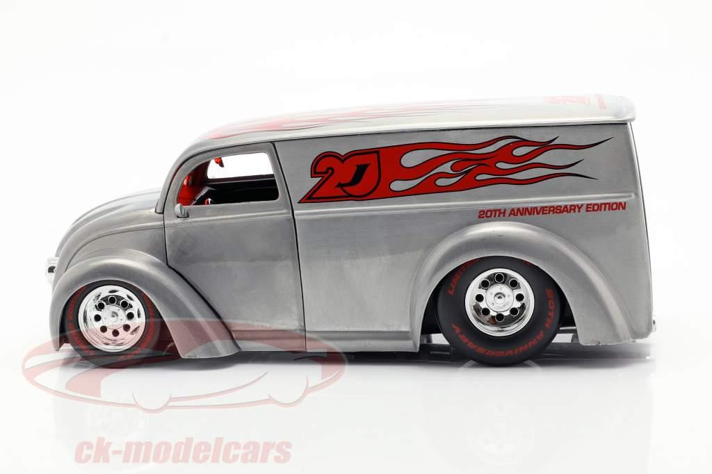 Div Cruizer zilver / rood 1:24 Jada Toys