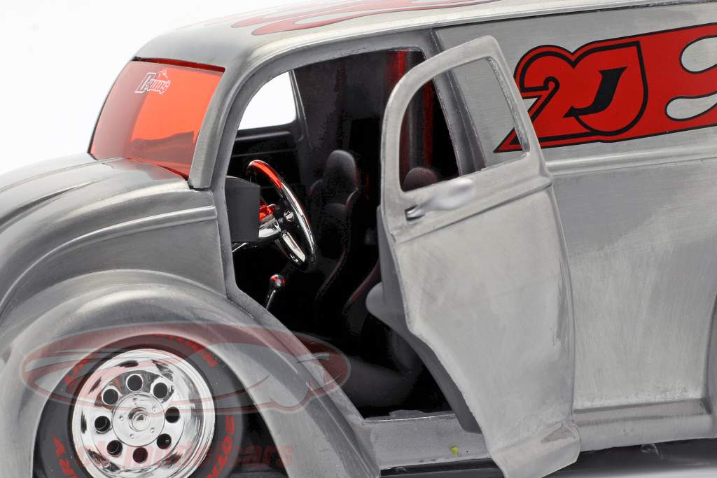 Div Cruizer silber / rot 1:24 Jada Toys
