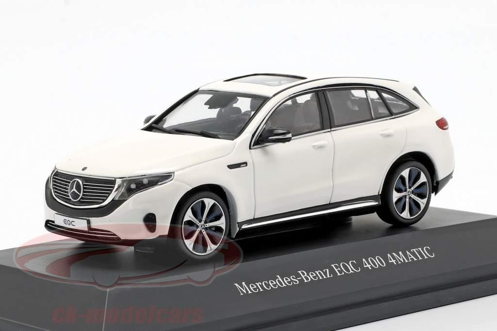 Mercedes-Benz EQC 400 4MATIC (N293) Baujahr 2019 polarweiß 1:43 Spark
