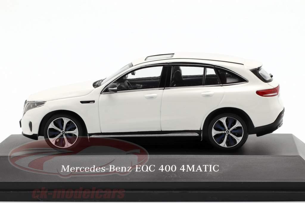 Mercedes-Benz EQC 400 4MATIC (N293) anno di costruzione 2019 bianco polare 1:43 Spark