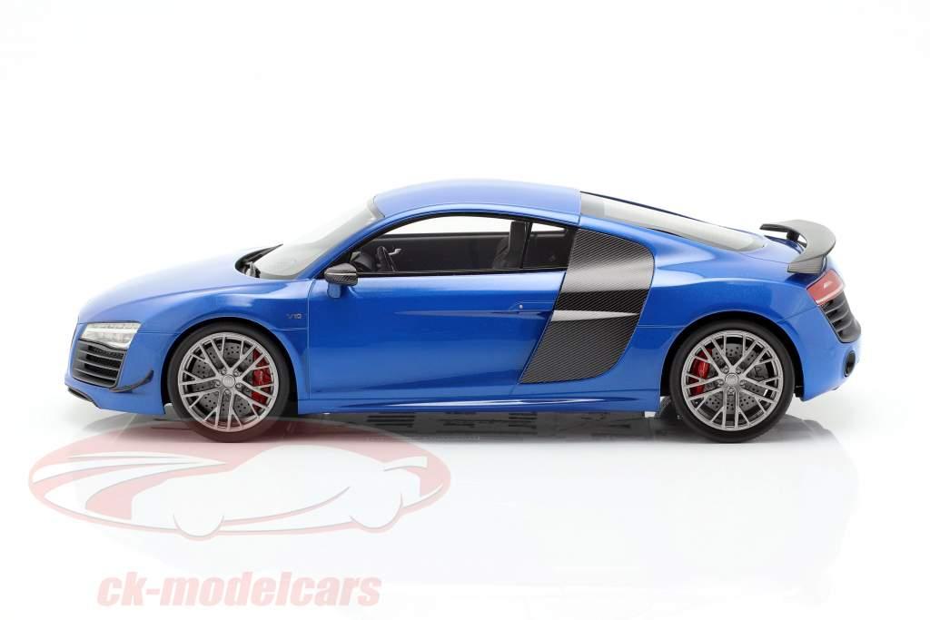 Audi R8 LMX anno di costruzione 2014 ara blu 1:18 DNA Collectibles
