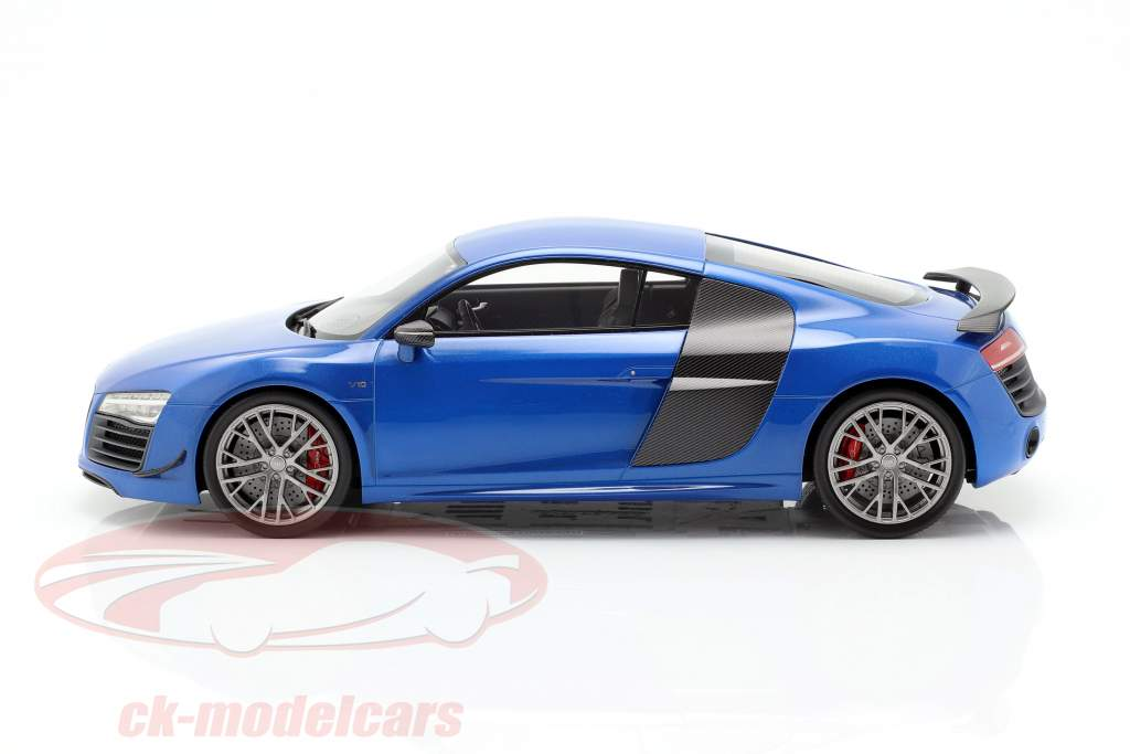 Audi R8 LMX año de construcción 2014 ara azul 1:18 DNA Collectibles