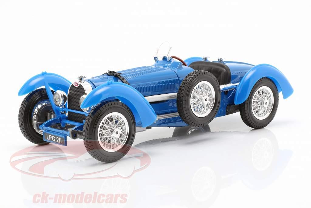 Bugatti Grado 59 Año 1934 azul 1:18 Bburago